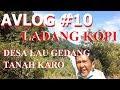 Mengunjungi Ladang Di Lau Gedang Pas Di Bawah Kaki Gunung SIbayak Tanah Karo