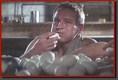 Luke Eating Eggs for a Bet