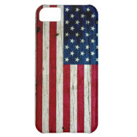 Cool Distressed American Flag Wood Rustic iPhone 5C Cover