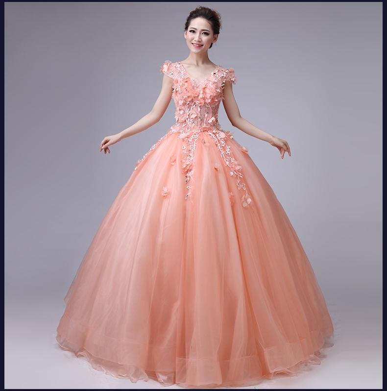 New! White/Red/Pink/Blue Wedding Dress Luxury Crystal Colour Ball ...