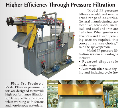 IMTS Edition of Manufacturing News - Flow Pro Products Inc.