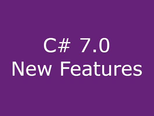 What's new in C# 7.0