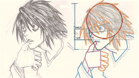 draw  death note drawing  digital painting