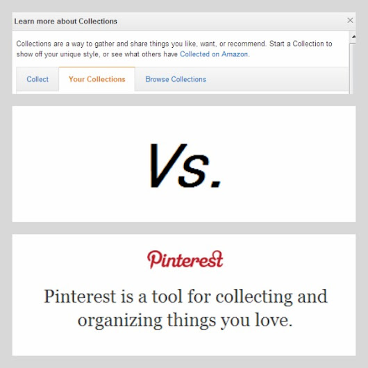 Pin-Off: Amazon Collections Vs. Pinterest