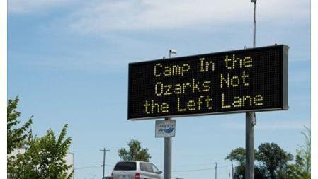 Some of MoDOT's best highway message boards