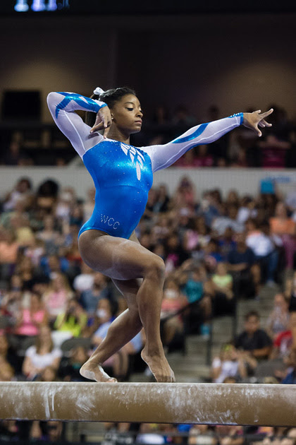 USA Gymnastics: July 25 - Senior Competition &emdash; Simone Biles