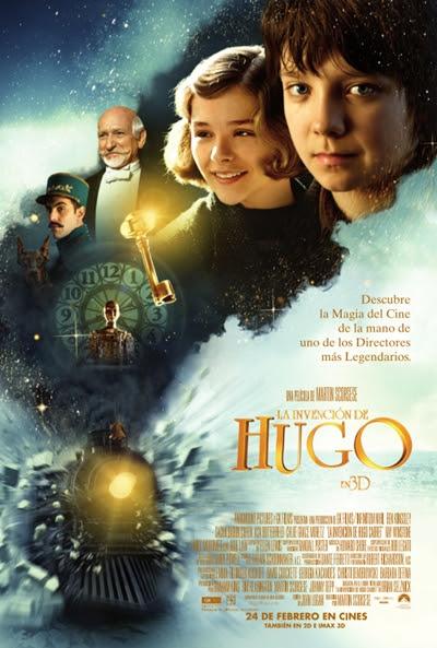 Cartel de La invención de Hugo (Hugo)