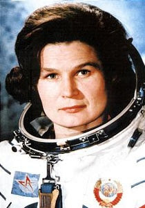 The First women in Space Valentina Tereshkova, russian cosmonaut.  They kept her in space longer than all the previous male cosmonauts and astronauts combined.