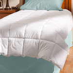 AllerEase Cotton Comforter Full/Queen White