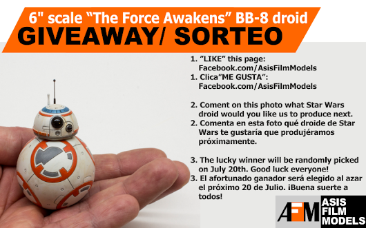 FINISHED!!!!!!!!......GET A FREE BB-8 FINISHED FIGURE!!!!