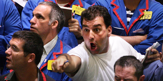 Traders are cranking up bets that the stock market will go crazy