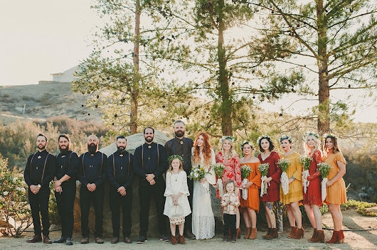 Welcome to Wedstock: A Vintage Wedding for Lovers