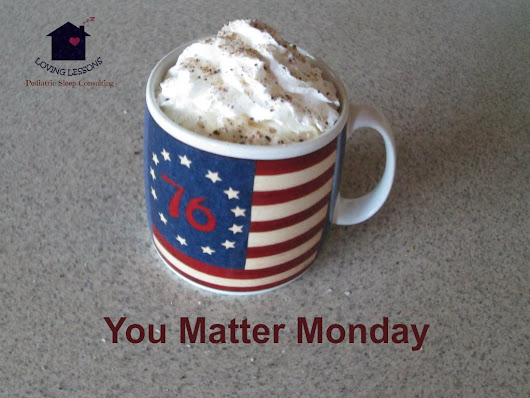 The You Matter Monday Challenge Begins: Enjoy Your Beverage -