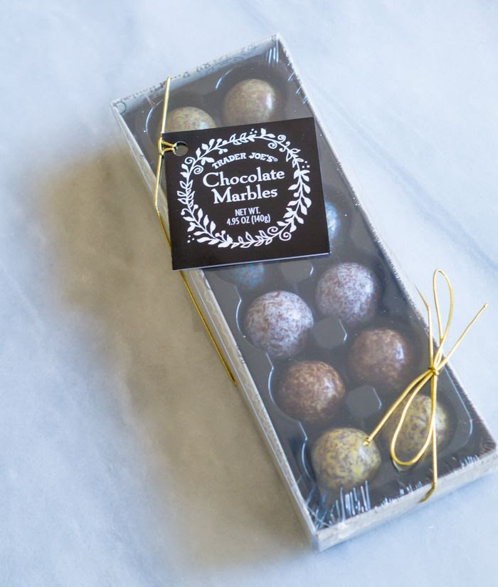 trader joe's chocolate marbles review : part of a weekly review series of tj's desserts and treats