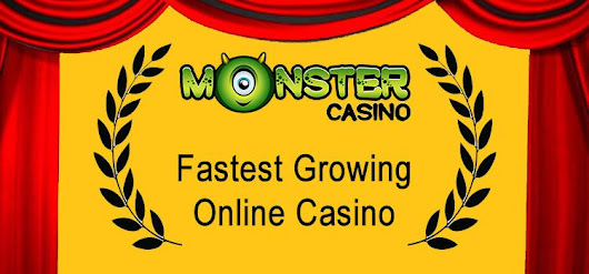 Monster Casino - the Fastest Growing Online Casino!