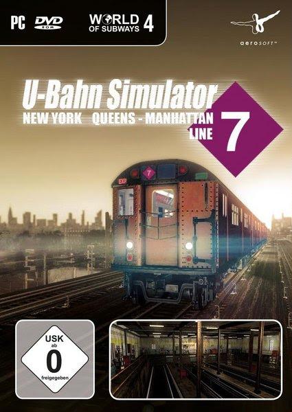 تجميل لعبة القطارات World of Subways 4 New York Line 7 كاملة ومجاناً