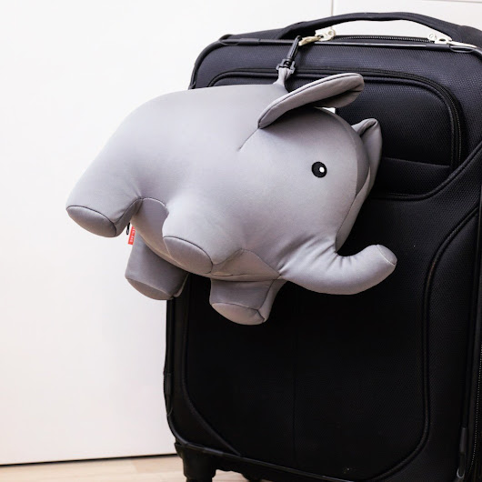 Zip And Flip Elephant Travel Pillow » Petagadget