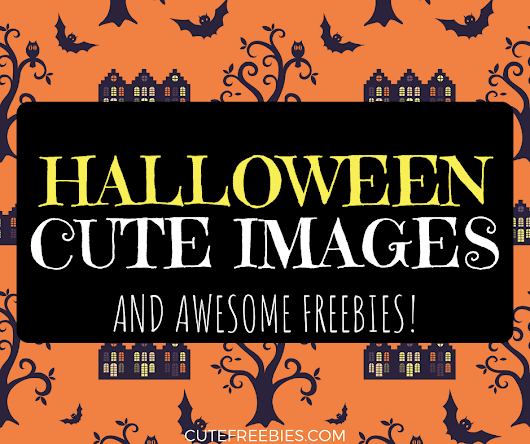 Cute Halloween Images And Clipart (Plus Freebies!) - Cute Freebies For You