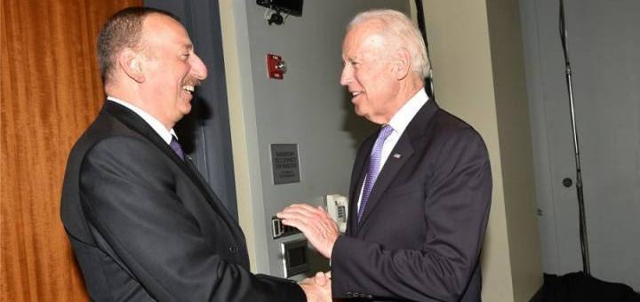 Алиев и Байден