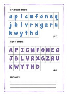 Printable Preschool Assessments (Aligned with Early Learning Pre-K ...