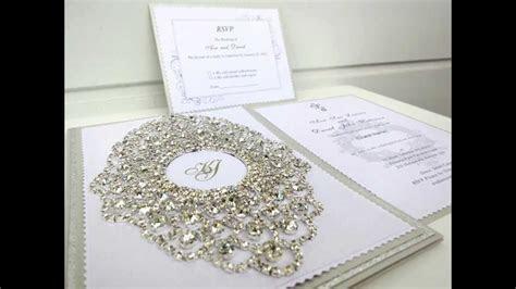 Unique Handmade Wedding Invitations   YouTube