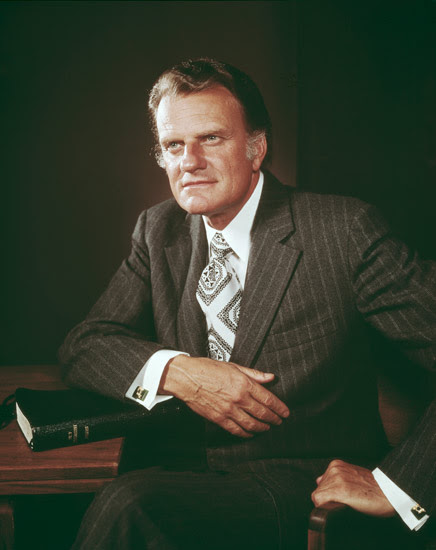 Billy Graham by Yousuf Karsh, aCurator