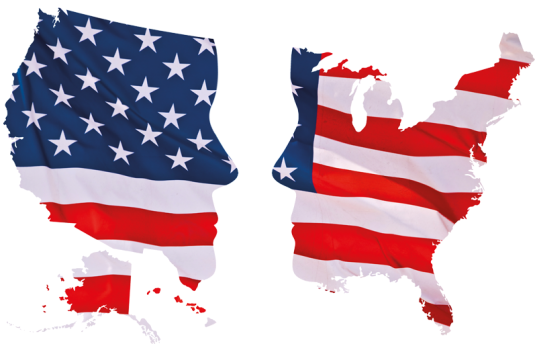 Image result for america split in half