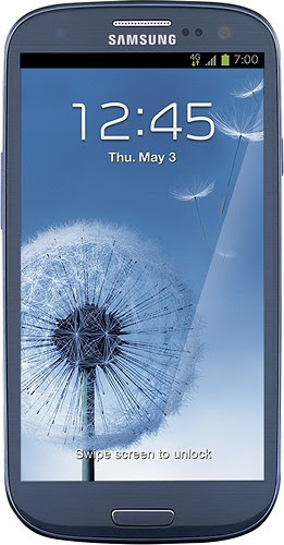 Zact Mobile - Samsung Galaxy S III 4G No-Contract Mobile Phone at Best Buy