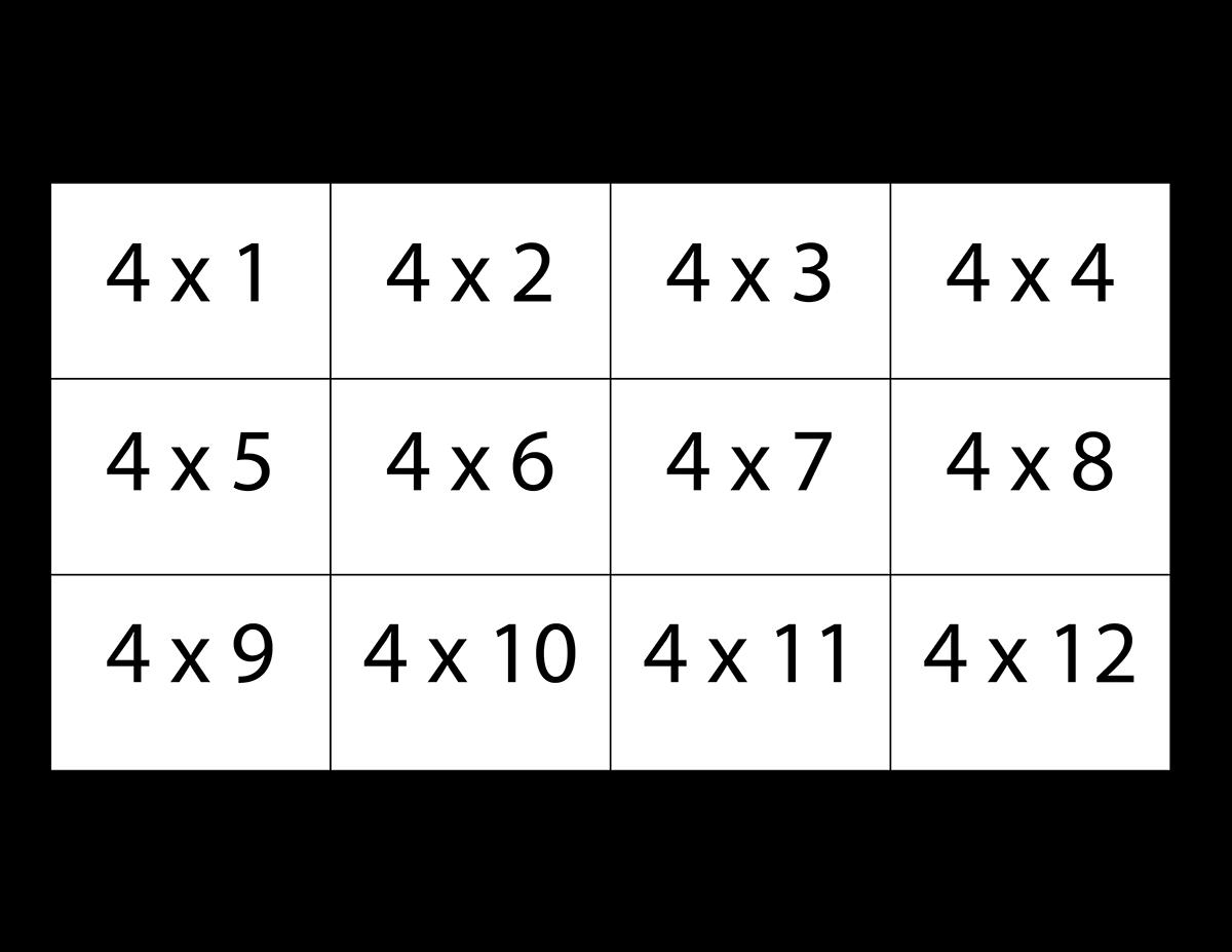 printable multiplication flash cards gameshacksfree