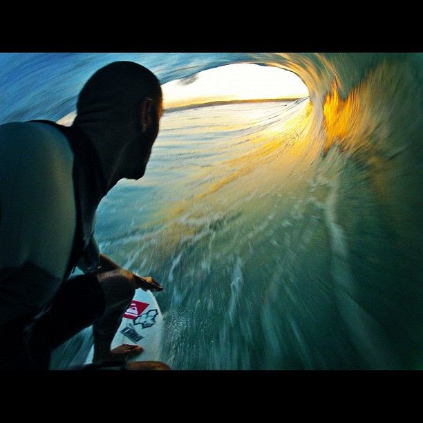 What the world looks like when you are Kelly Slater.