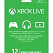 Electronics City: Video Games: Microsoft Xbox LIVE 12 Month Gold Card