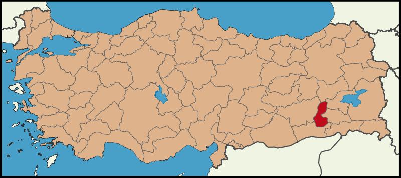 خريطة باتمان تركيا