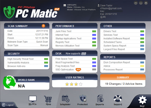How to Scan for Viruses with PC Matic? - Ask Dave Taylor