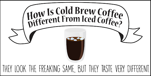How is Cold Brew Coffee different from iced coffee? - I Love Coffee