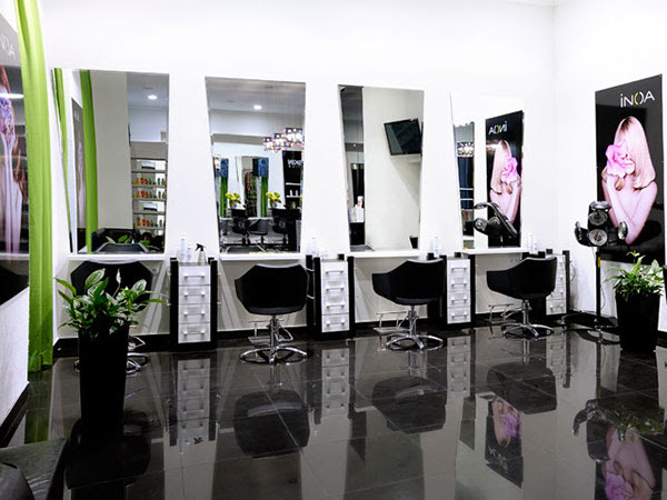 Rumyantseva's beauty salon interior design on Behance