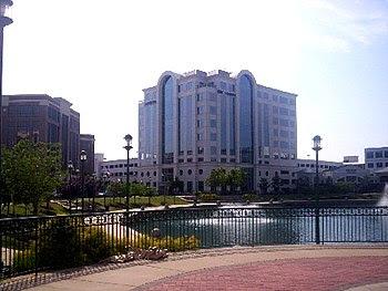 English: The new City Center development in th...