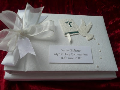 Photo Albums 1st Holy Communion Personalised Handmade Guest