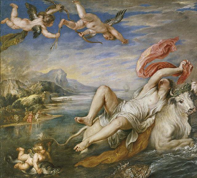 Rubens - El rapto de Europa