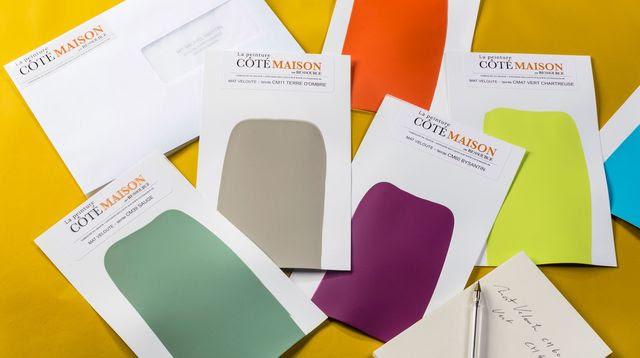 Nouveau : découvrez les 60 peintures couleurs Côté Maison