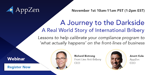 Webinar: A Journey to the Darkside - A Real World Story of International Bribery