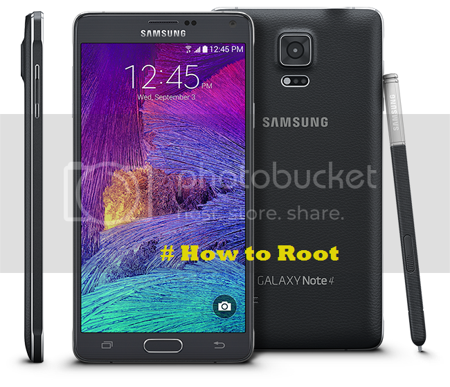 Cara Root Samsung Galaxy Note 4