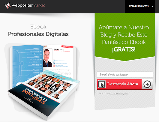 Descarga GRATIS Ebook sobre Profesionales Digitales