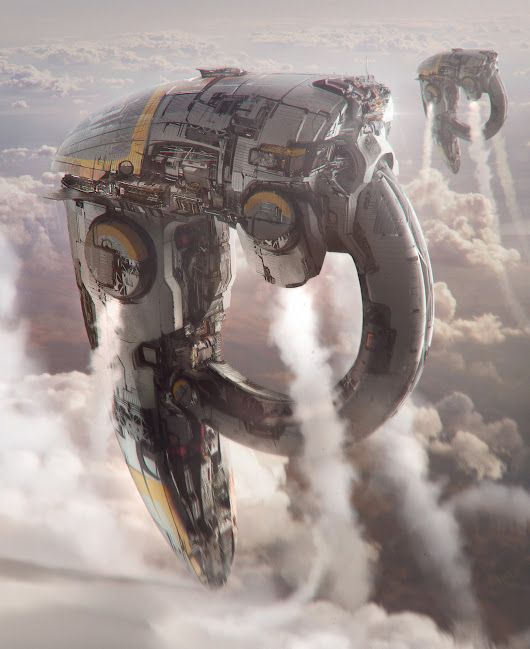 Spaceships design, Arnaud Kleindienst