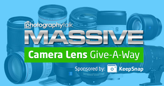 KeepSnap Camera Lens Give-A-Way