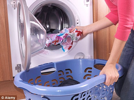 False economy: Washing at low temperatures may save your energy bills but it could damage your health