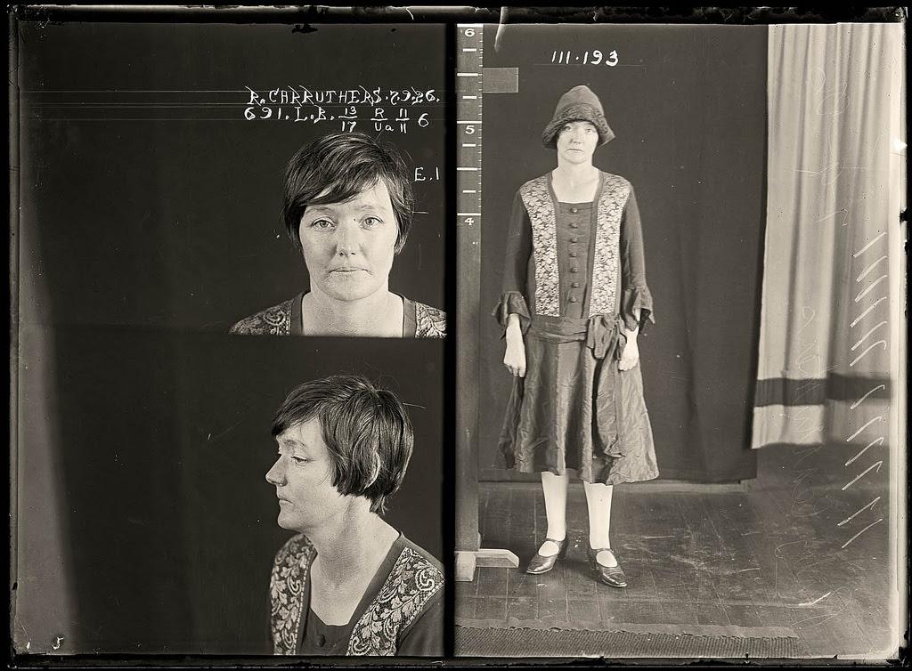 photo police sydney australie mugshot 1920 08 Portraits de criminels australiens dans les années 1920