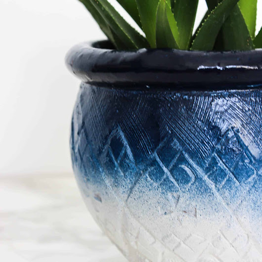 Painted Ceramic Pots [in just 5 minutes!] - Love Create Celebrate