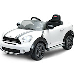 Gymax 12V Electric Mini Countryman Licensed Kids Ride On Car Remote Controller White
