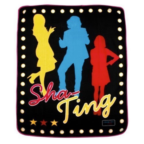 CELEBRITY JUICE SECTOR SHA TING FLEECE BLANKET THROW MATCHES DUVET OFFICIAL NEW by CELEBRITY JUICE