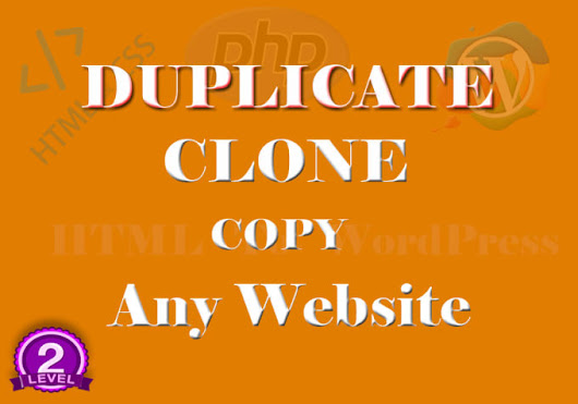 trust_coder1 : I will duplicate, clone, copy any website for you for $15 on www.fiverr.com